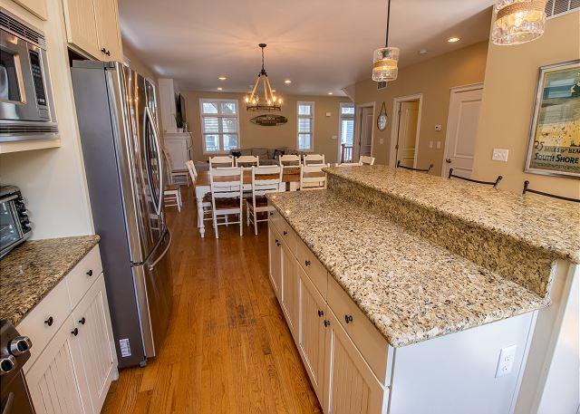 Main level full kitchen