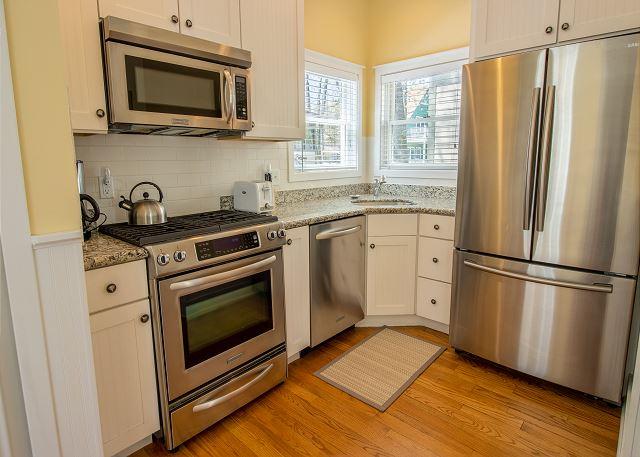 Guest house main level kitchen
