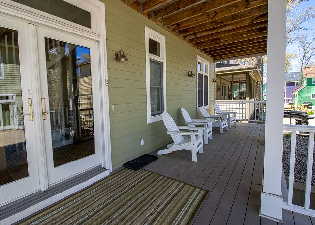 Sweet Retreat front porch