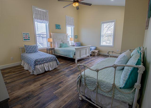 Second Floor Bedroom 3: 3 Twins and 1 Queen