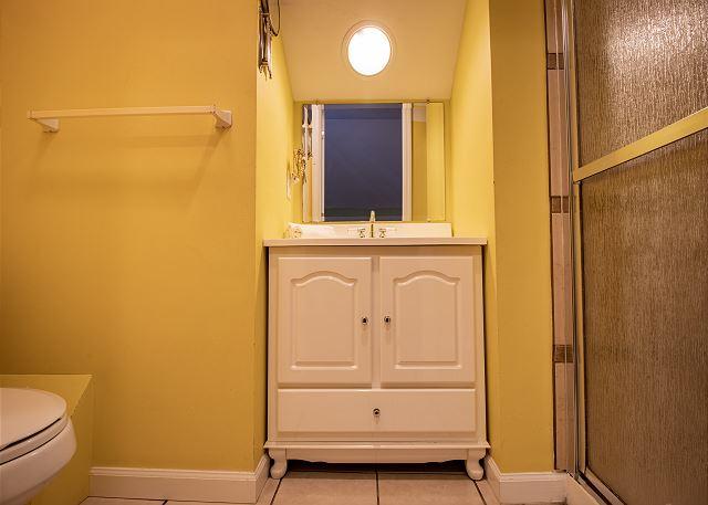 Third level hall 3/4 bathroom