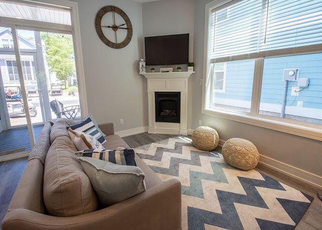 Main Level open living room