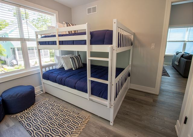 Second Level Bedroom #2 - full over full bunk bed