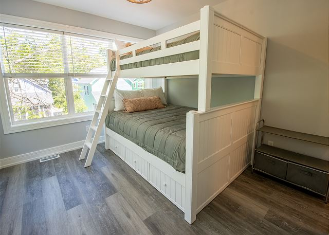 Third Level Bedroom #3 - Extra large full over queen bunk attach