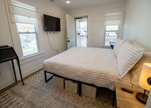 Second Level Bedroom #2 King with deck access