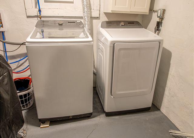 Main Level Washer/Dryer