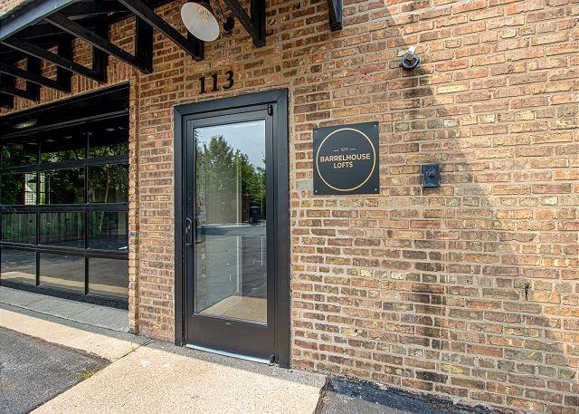 Main entrance to Loft #2