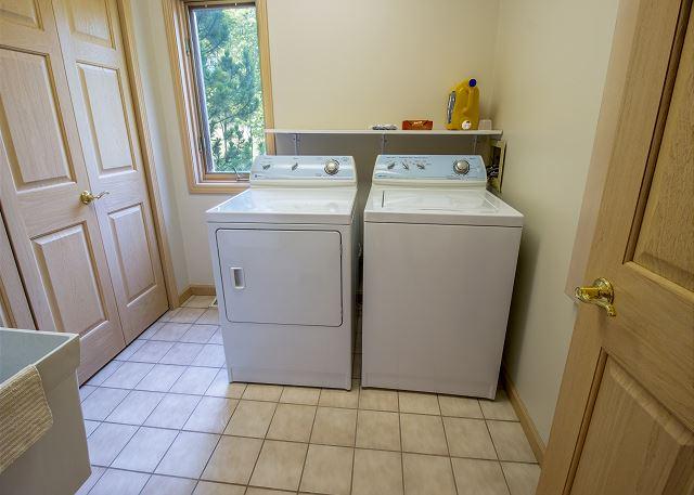 Main leve laundry