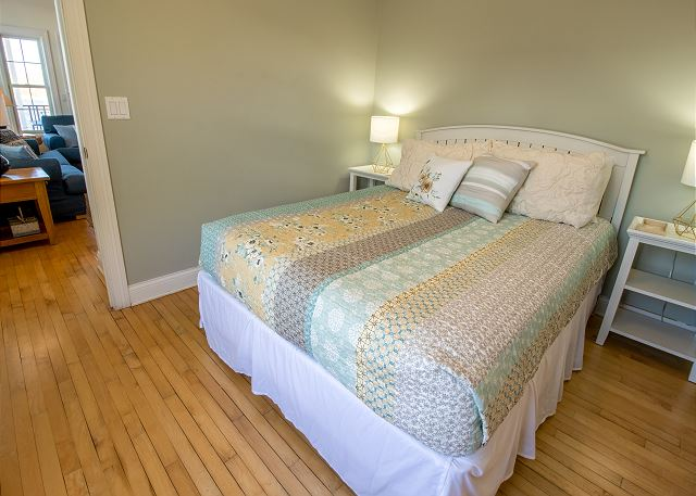 Main Level bedroom #3- Queen with attached Full Jack and Jill ba