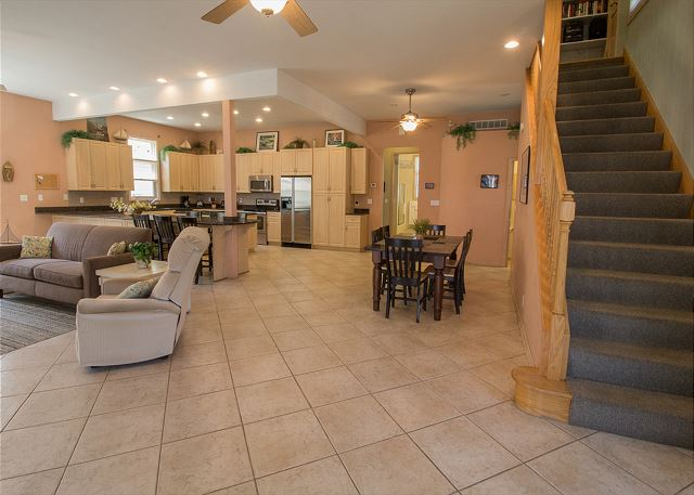 Open floor plan perfect for your large group gatherings