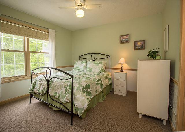 Second level full bedroom