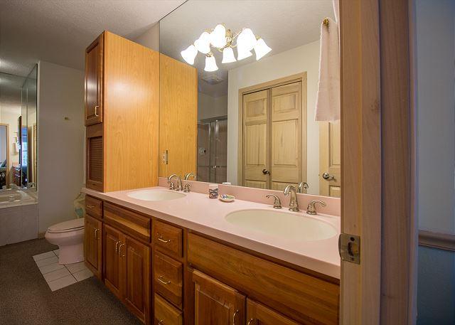 Master bedroom bathroom Main floor