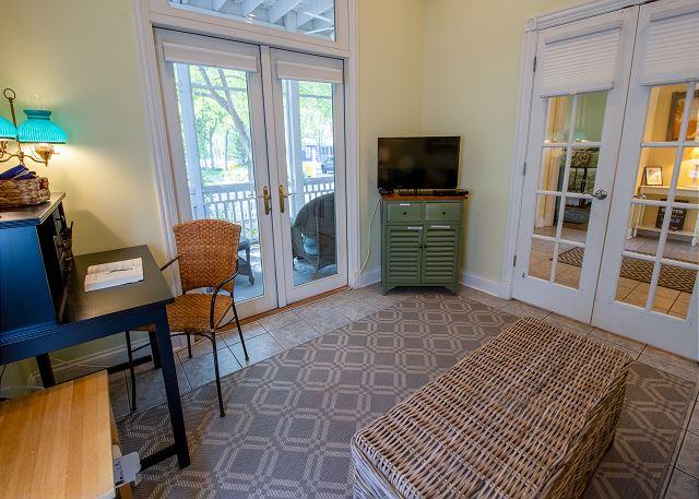 Main level bedroom #2 - queen sleeper sofa