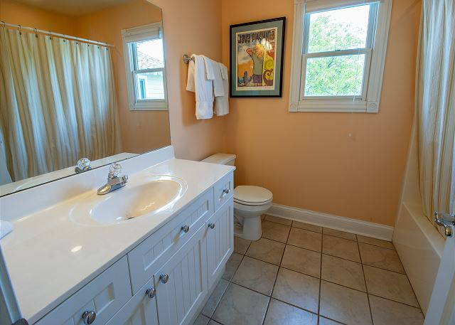 Second level bedroom #3 - attached full bathroom