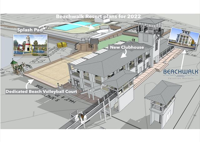 New for 2022 in Beachwalk Resort!