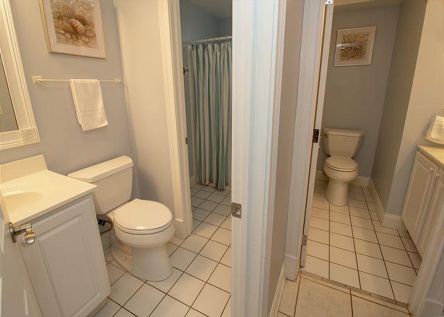 Both basement bathrooms