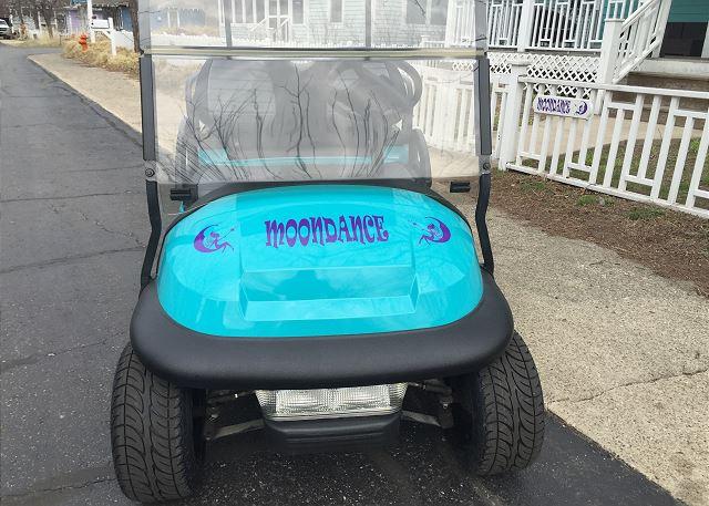 Moondance Golf Cart