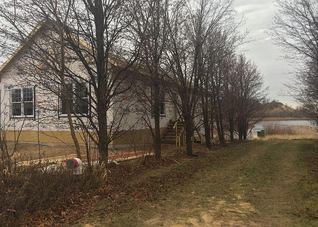 Facing Beachwalk Lane