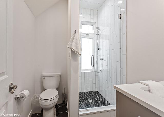 Second Floor Bath Attached to Queen Bedroom