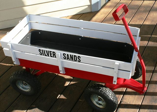 Use of Silver Sands wagon great for getting to beach and pool