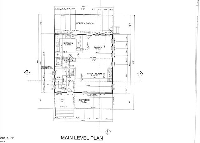 Main Level Plan