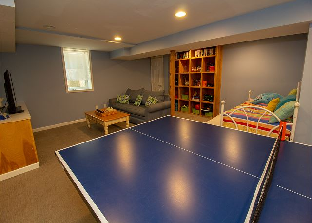 Basement ping pong