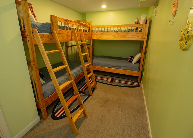 Basement Bunk room