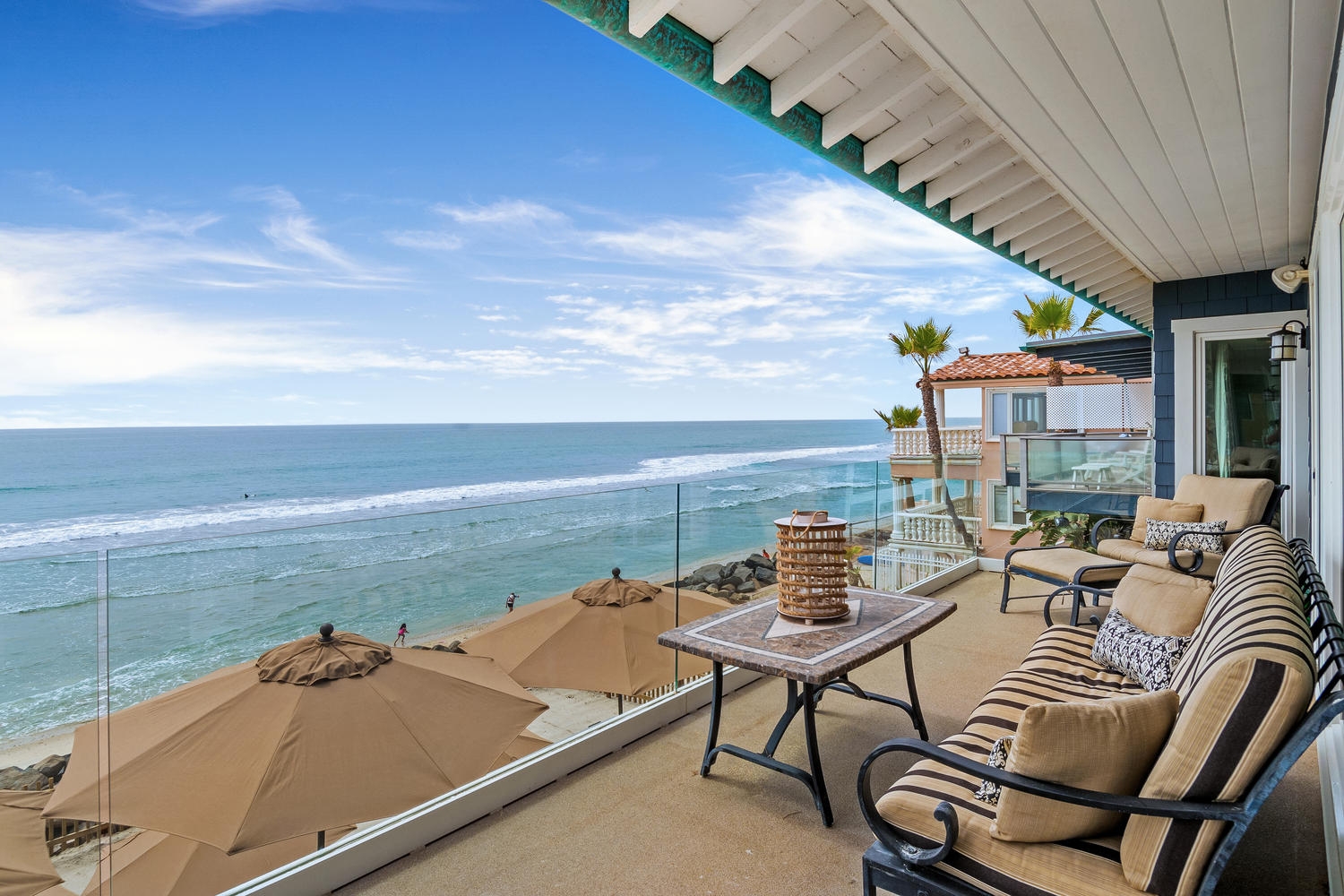 Home With Private Beach In Ca Beachfront Only Vacation