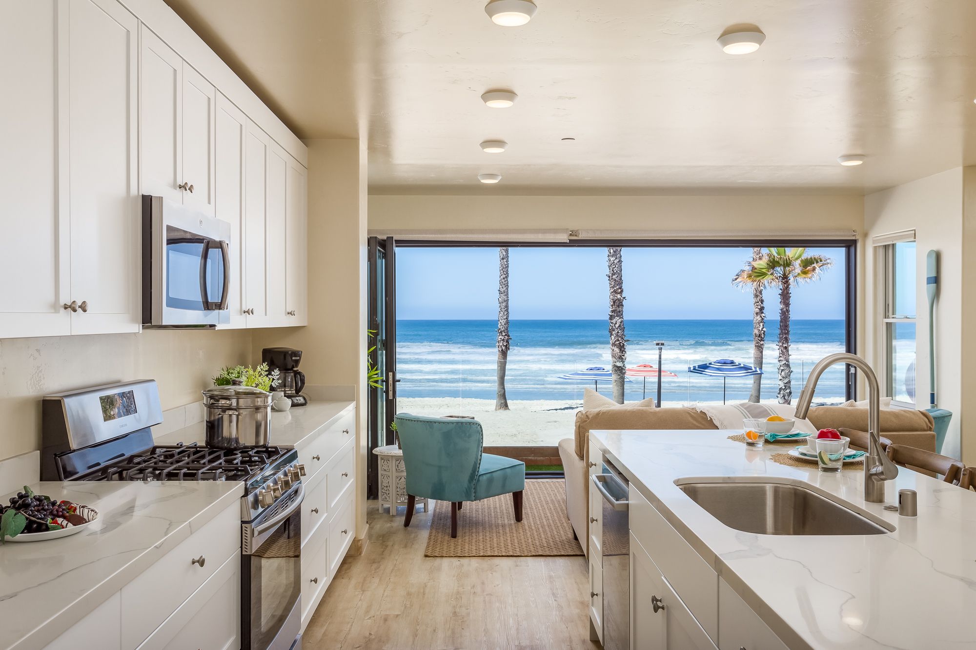 Pet Friendly Oceanside Rental Beachfront Only Vacation