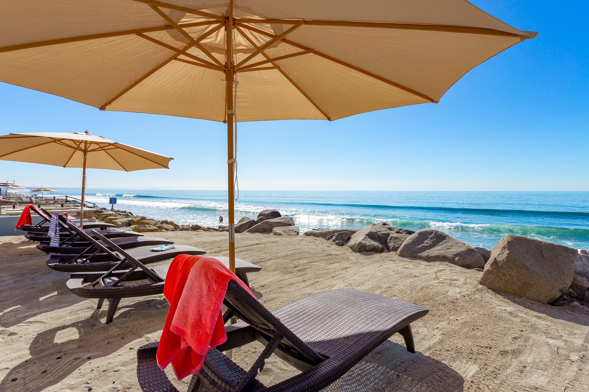 Private Oceanfront Home In Ca Beachfront Only Vacation