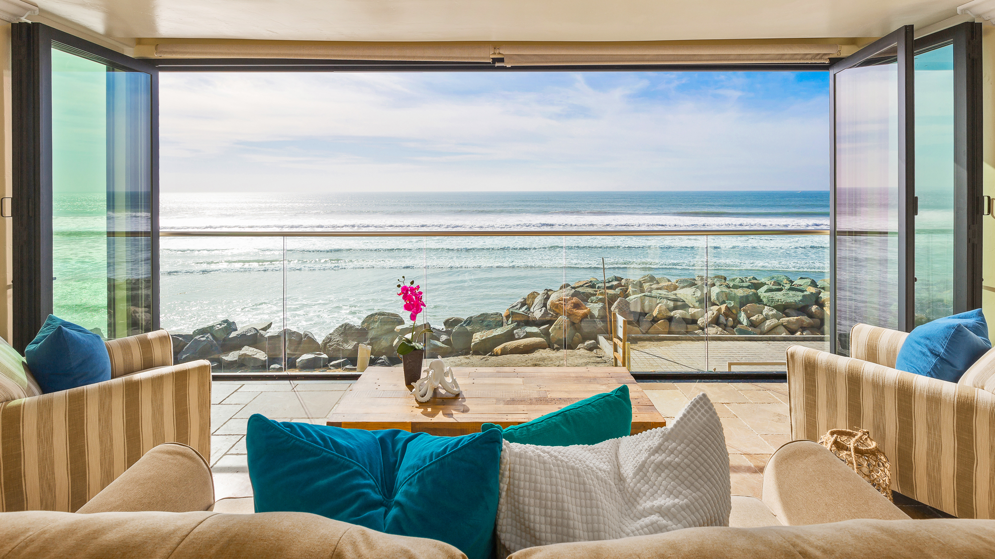 20 Person Oceanside Ca Retreat Beachfront Only Vacation