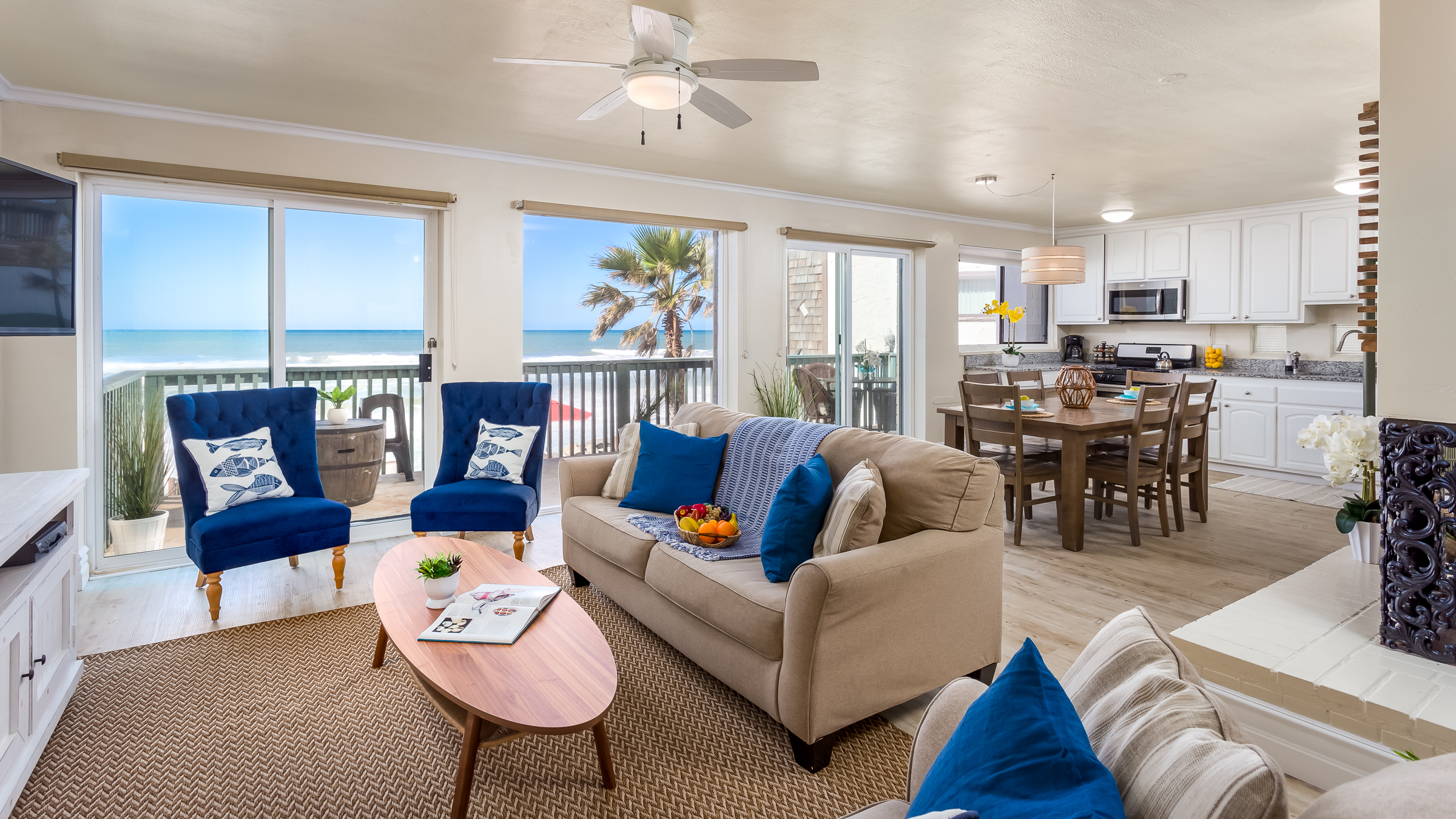 20 Person Oceanside Condo Beachfront Only Vacation Rentals