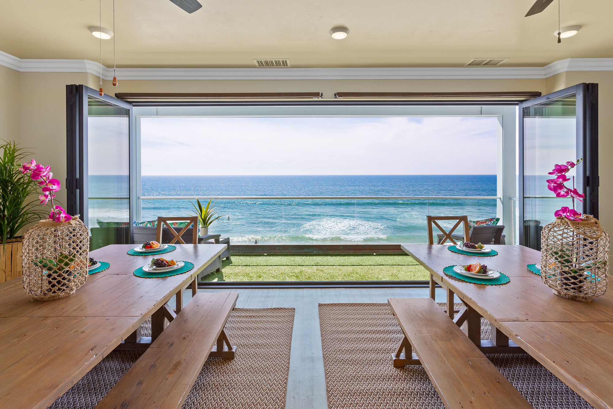 8 Bedroom Private Beach Home in CA | Beachfront Only Vacation Rentals