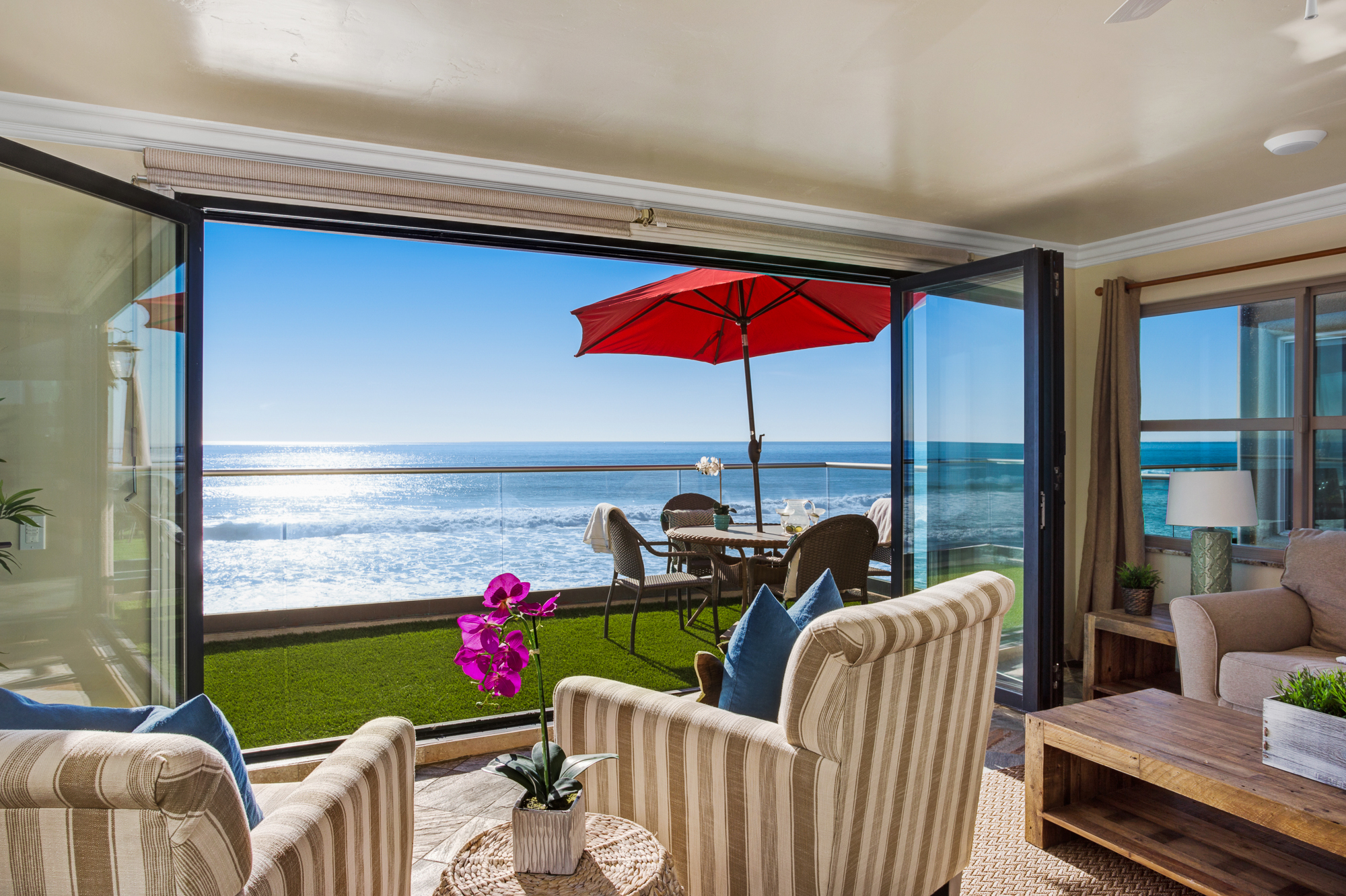 8 Bed Oceanside Rental   Beachfront Only Vacation Rentals
