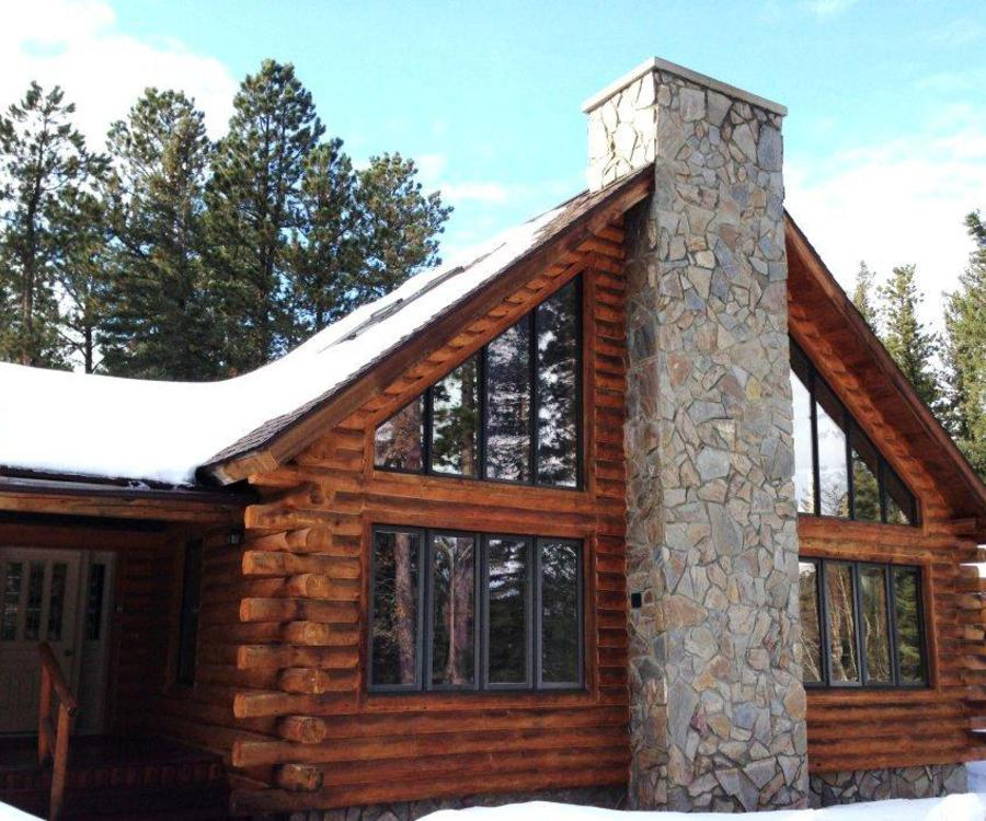 nestled tranquility equipped cabins the black orig bath pines woods in this hills fully for gorgeous enjoy hillside a cabin secluded rent home bedroom of on