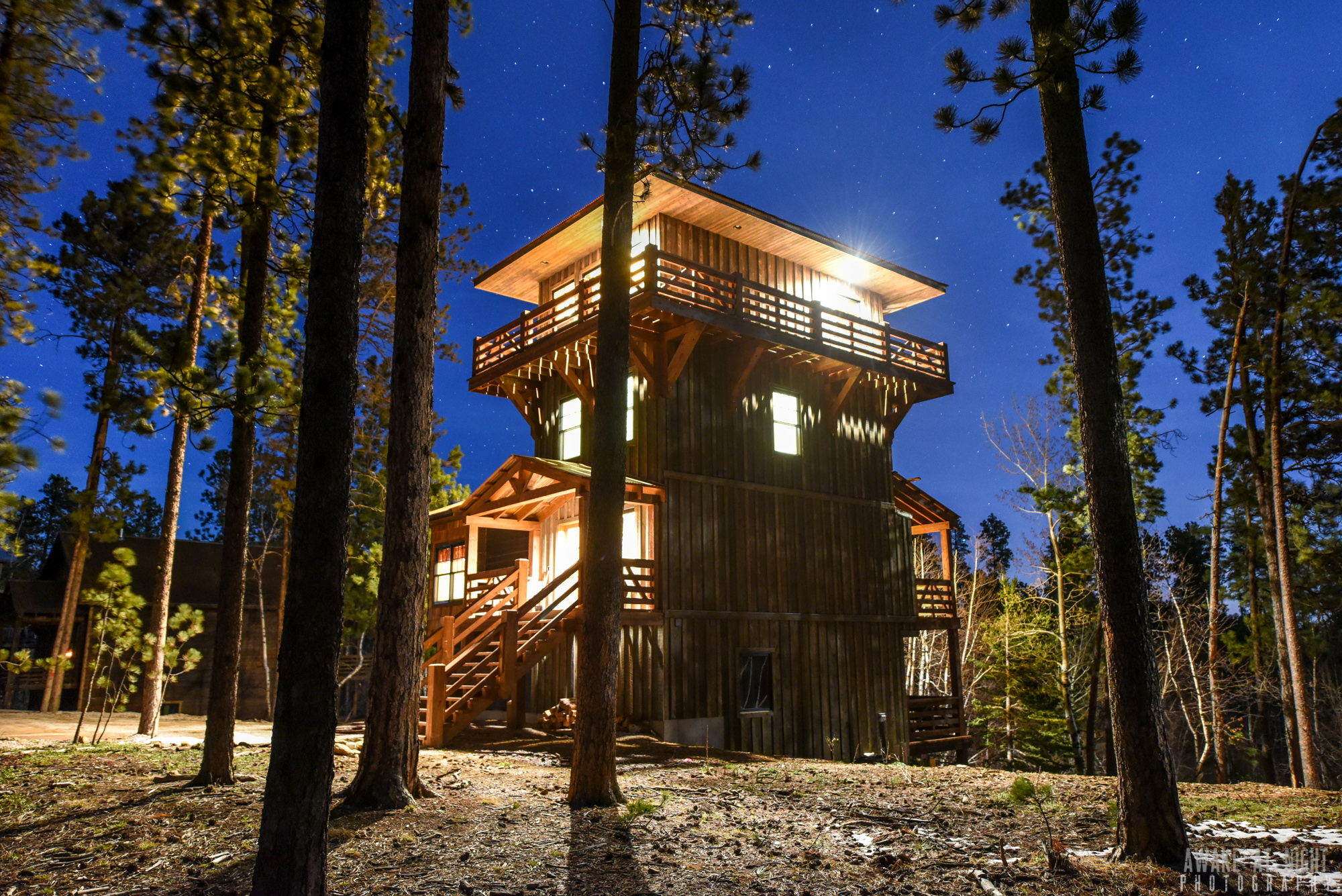 Lookout Tower Black Hills Adventure Lodging
