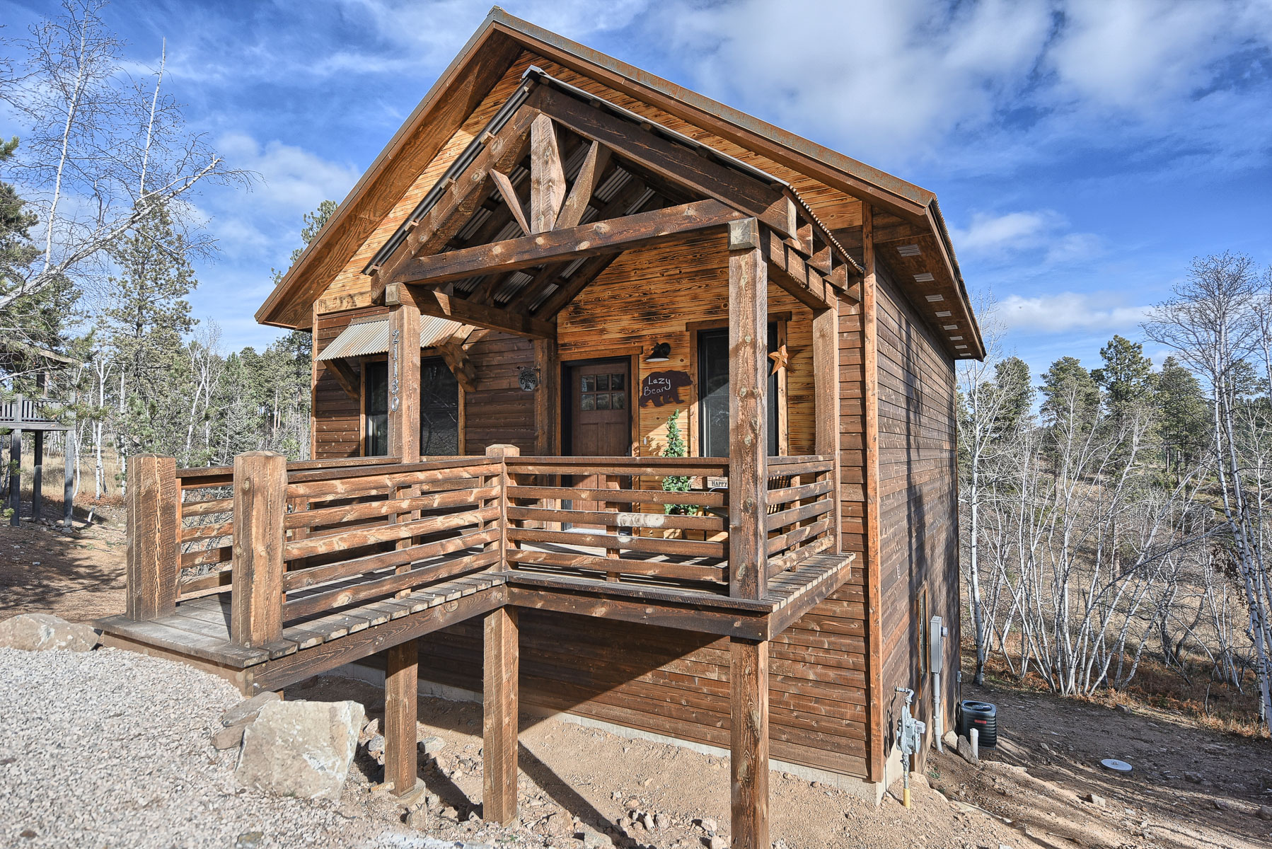 Lazy bear lodge black hills adventure lodging for Usmc big bear cabins
