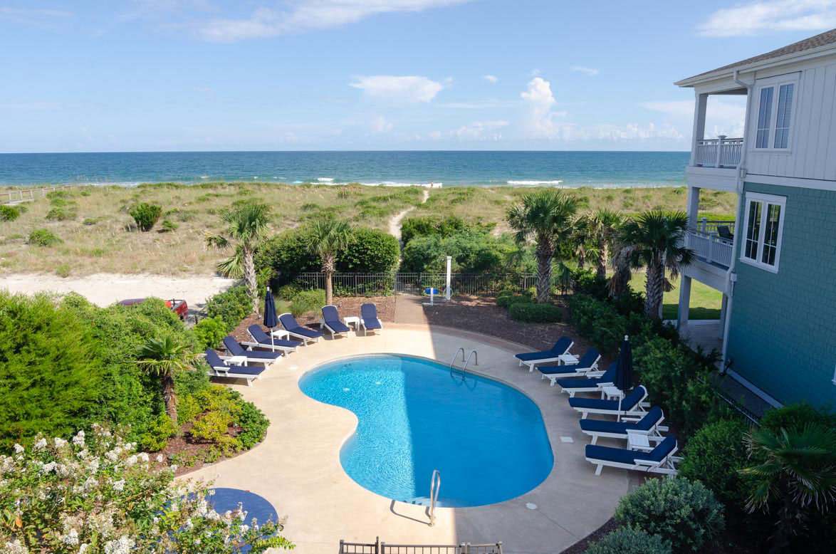 Pool Area With Private Beach Access Can Be Heated Chilled During Certain Times Of The Year