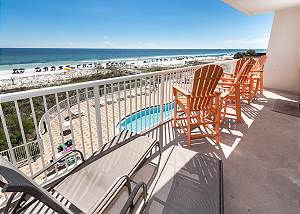 Summer Place 302: BEACH FRONT condo with UNFORGETTABLE VIEWS & A GREAT LAYOUT