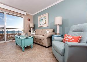 PI 116: Beach front updated condo with WIFI, GOLF, movies and MORE!