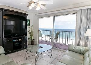 TP 401: Delightful corner unit- beachfront,HDTV,WIFI,FREE BEACH SERVICE