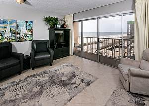 Islander 606:Amazing BEACH Side Condo~FREE Beach Service, Movies, Golf & More