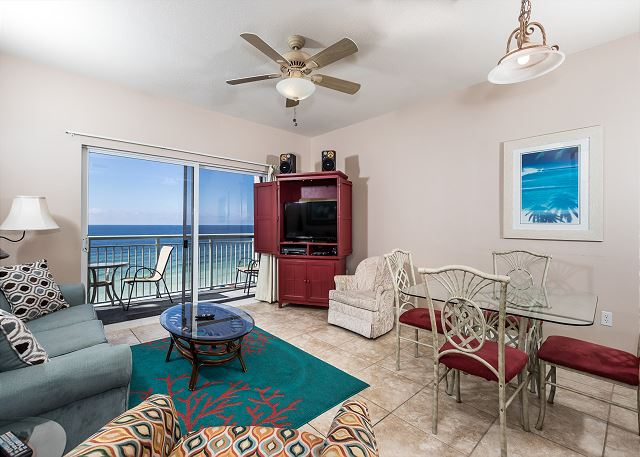 Direct Beachfront View From The Living Room And Master Bedroom In This  Lovely Sixth Floor Condo