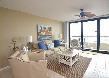 Orange Beach Condominium rental - Exterior Photo - Living Room Area