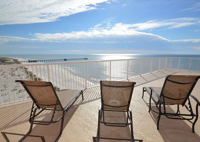 Additional view of balcony area off from bedroom 2. Fantastic view to State Park Pier.