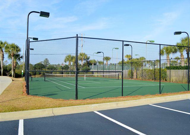 Shoalwater tennis court.