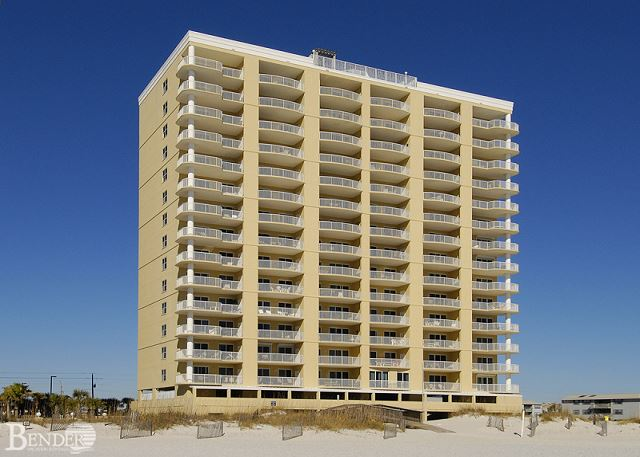 View of Island Royale Complex from the Beach.