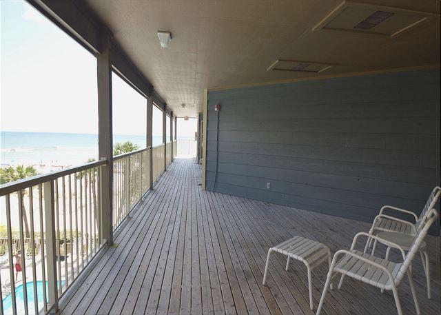 Deck Balcony Area