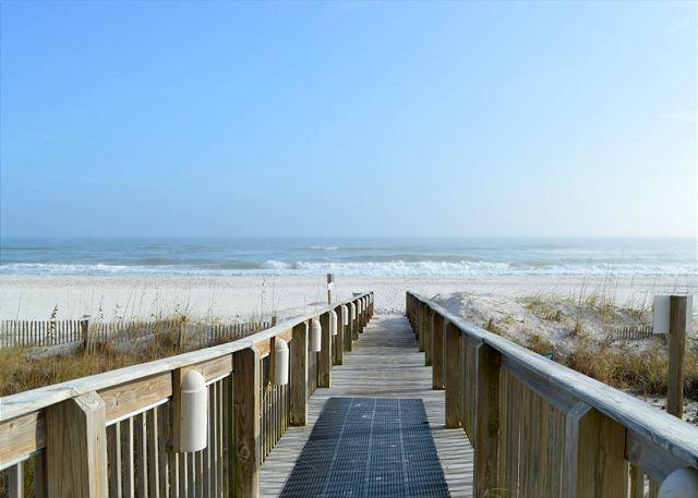 Access to beach.
