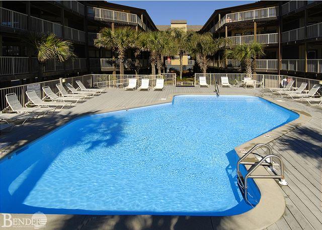 Refreshing Pool Area.